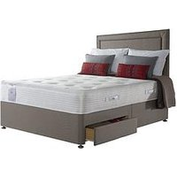 Product photograph showing Sealy Sealy Activ React Geltex 1400 Pocket Double Divan Firm