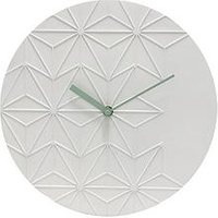 Product photograph showing Acctim Clocks Chloe White Wall Clock