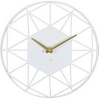 Product photograph showing Acctim Clocks Acctim Clocks Alva White Cliffs Wall Clock