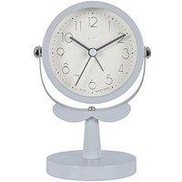 Product photograph showing Acctim Clocks Acctim Clocks Lilly Grey Marl Alarm Clock