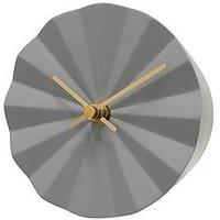 Product photograph showing Acctim Clocks Acctim Clocks Lalya Smoke Grey Wall Clock
