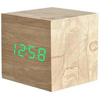 Product photograph showing Acctim Clocks Ark Ash Wood Alarm Clock