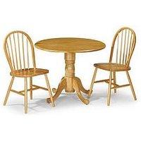Product photograph showing Julian Bowen Set Of 4 Windsor Chairs