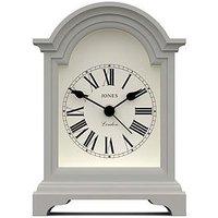 Product photograph showing Jones Clocks Jones Clocks Night And Day Mantel Alarm Clock