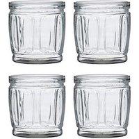Product photograph showing Ravenhead Essentials Circle Set Of 4 Mixer Glasses