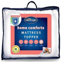 Product photograph showing Silentnight Home Comforts Mattress Topper