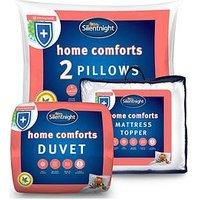Product photograph showing Silentnight Home Comforts Bundle
