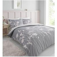 Product photograph showing Catherine Lansfield Catherine Lansfield Meadowsweet Floral Duvet Set - Db