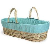 Product photograph showing Clair De Lune Colour Pop Ocean Wave Palm Moses Basket