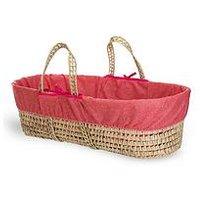 Product photograph showing Clair De Lune Colour Pop Calypso Palm Moses Basket