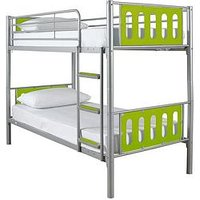 Product photograph showing Cyber Bunk Bed Frame - Bunk Bed Frame Only