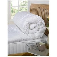 Product photograph showing Cascade Home Dreamy Nights Natural Goose Feather Down 13 5 Tog Duvet Set Db