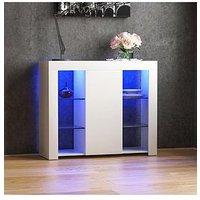 Product photograph showing Vida Designs Azura 1 Door Large Led Sideboard