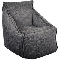 Product photograph showing Rucomfy Weave Snug Bean Bag Chair