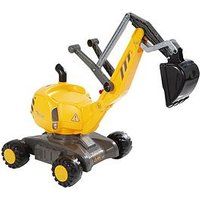 Rolly Toys Ride-On Digger, One Colour