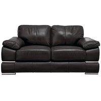 Product photograph showing Primo Italian Leather 2 Seater Sofa