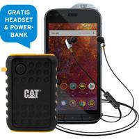 CAT S61 64 GB schwarz Premium Bundle mit Allnet Flat