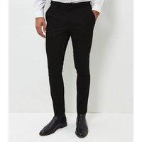 Black Skinny Suit Trousers New Look
