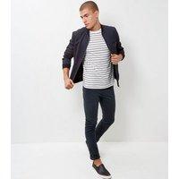 Men's Black Skinny Trousers New Look