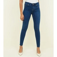 Blue Super Soft Super Skinny India Jeans New Look