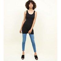 Black Longline Vest New Look