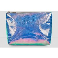 Holographic Crox Texture Pouch New Look