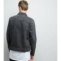 Grey Denim Jacket New Look