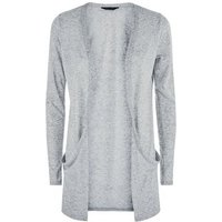 Grey Fine Knit Oversized Cardigan New Look