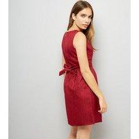Mela Red Tulip Dress New Look