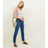 Pink Shoestring Strap Cami New Look