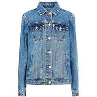 Teens Blue Denim Jacket New Look