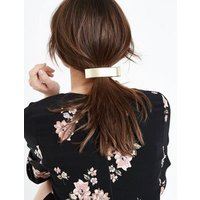 Gold Metallic Hair Clip New Look