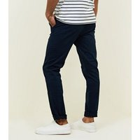 Navy Slim Fit Chinos New Look