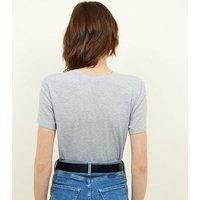 Grey Marl Short Sleeve T-Shirt New Look