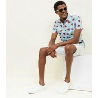 Blue Watermelon Short Sleeve Shirt New Look
