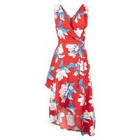 AX-Paris-Red-Floral-Wrap-Front-Dress-New-Look