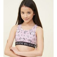 Teens Pink Believe Unicorn Pyjama Set New Look