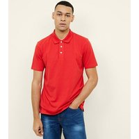 Red Polo Shirt New Look