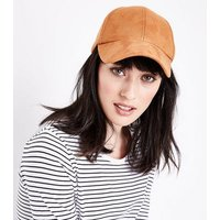 Light Brown Bow Back Cap New Look