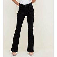 Black Boot Cut 'Lift & Shape' Jeans New Look
