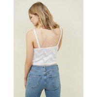 petite-white-crochet-crop-cami-new-look