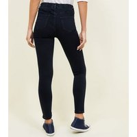 Navy Dark Wash Emilee Jeggings New Look