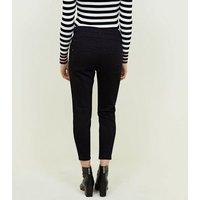 Petite Black 26in High Waist Skinny Jeans New Look