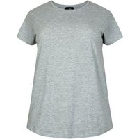 curves-grey-cotton-blend-tshirt-new-look