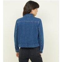 Blue Lightweight Denim Utility Jacket New Look