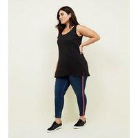 Curves Black Longline Vest New Look
