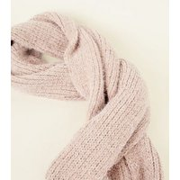 Mink Fluffy Chenille Snood New Look