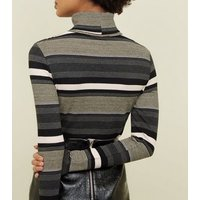 light-grey-stripe-glitter-roll-neck-jumper-new-look