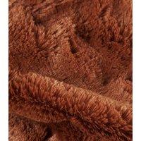 Rust Teddy Faux Fur Snood New Look