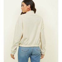 cream-zip-neck-fleece-sweatshirt-new-look